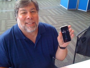 Woz agrees that Apple is falling behind rivals