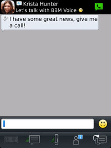 BlackBerry Messenger for iOS, Android coming in summer